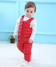 Boys Down Overalls (China)