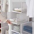 wardrobe partition board rack, drawer type clothes storage box, bedroom cabinet, interlayer wardrobe, storage rack.
