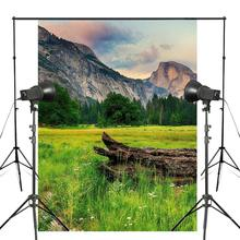 150x220cm Mountains Trees Landscape Photography Background Green Grass Backdrop Nature Theme Studio Props Wall