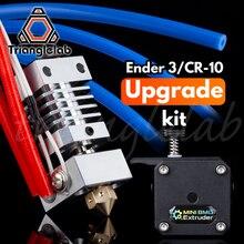 Trianglelab haute qualité Ender 3 ou CR 10 imprimante 3D kit de mise à niveau des performances Double engrenage entraînement Direct BMG extrudeuse CR10 HOTEND