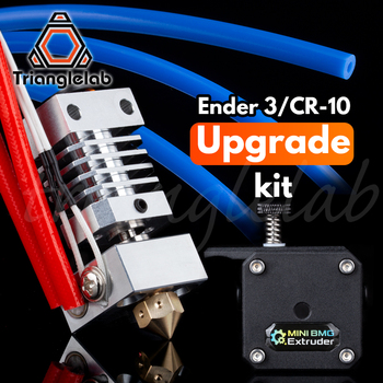 trianglelab high quality Ender-3 or CR-10 3D printer Performance upgrade kit Double Gear Direct Drive BMG Extruder CR10 HOTEND mellow all metal nf crazy hotend v6 copper nozzle for ender 3 cr10 prusa i3 mk3s alfawise titan bmg extruder 3d printer parts