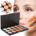 New Professional 15 Color Concealer Palette Facial Face Cream Care Camouflage Makeup Base Palettes Cosmetic Free Shipping