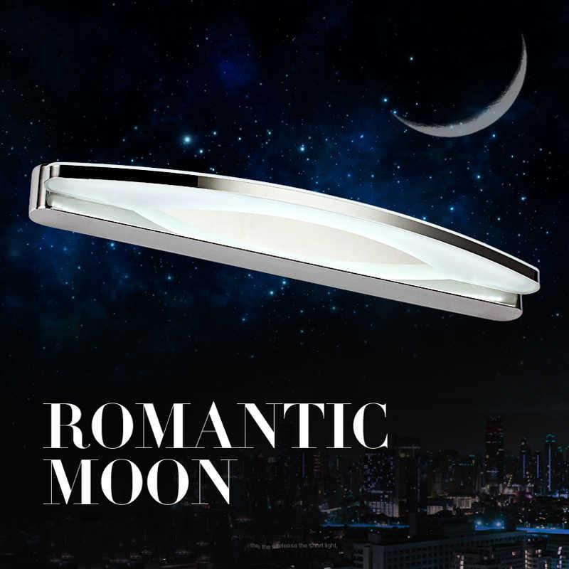540 мм современный 12 Вт светодиодный Зеркало для ванной со светодиодной подсветкой для спальни ночники banheiro, светодиойдные лампы