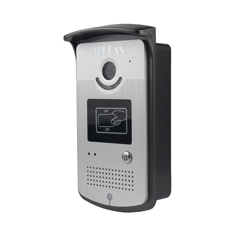 JERUAN new 7`` LCD Video Door Phone System 700TVL Camera access Control System+Electric Bolt lock+Remote control Unlock