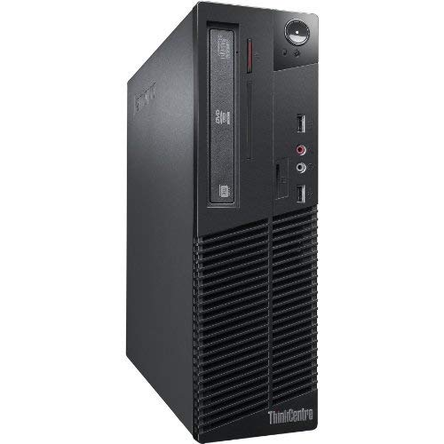 Lenovo M92 - Ordenador De Sobremesa (i5-3470, 4GB  RAM, HDD 500GB,  DVD, Windows 7 Pro) - Negro (Reacondicionado)