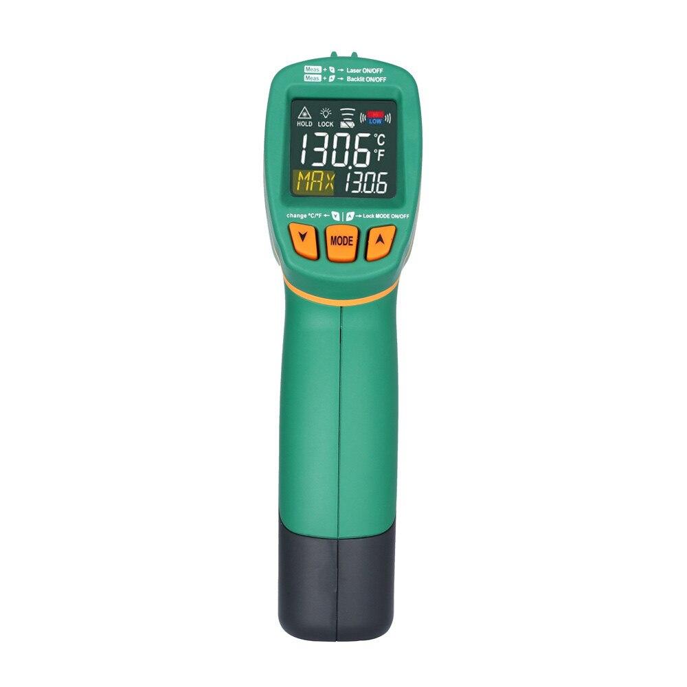 1pcs MASTECH MS6531C Handheld Digital LCD IR Thermometer Laser Temperature Tester Pyrometer thermometer Pyrometer Range 40~800
