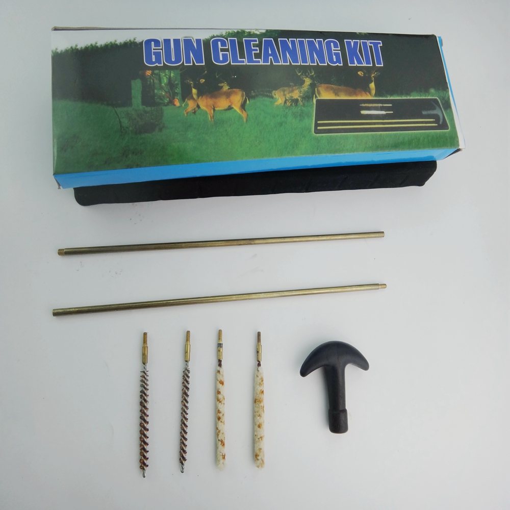 Tactical Hunting Universal Gun Cleaning Kit Supplies For Rifle Pistol Shotgun Free Shipping