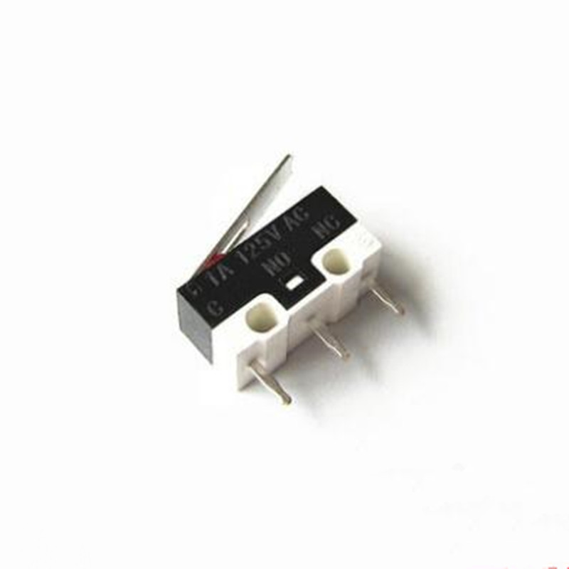 20pcs Limit Switch Push Button Switch 1A 125V AC 2A 125V AC Mouse Switch 3Pins Micro Switch(China)