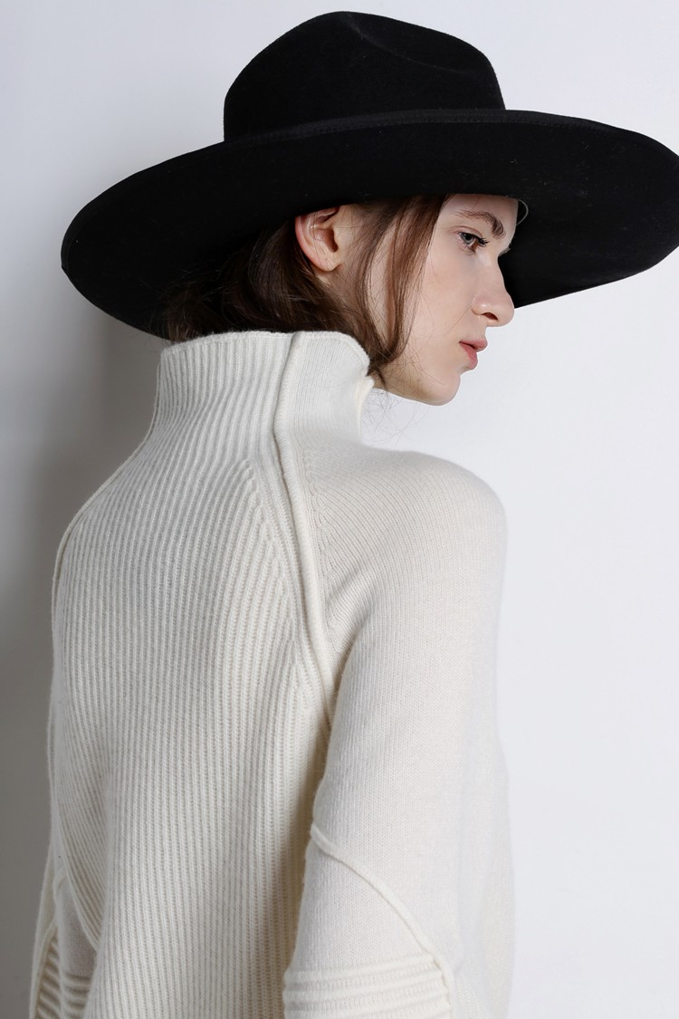 Sweaters Women 100% Cashmere-Wool