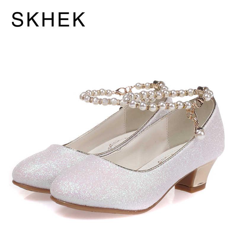 SKHEK Kids High Heel Shoes For Girls