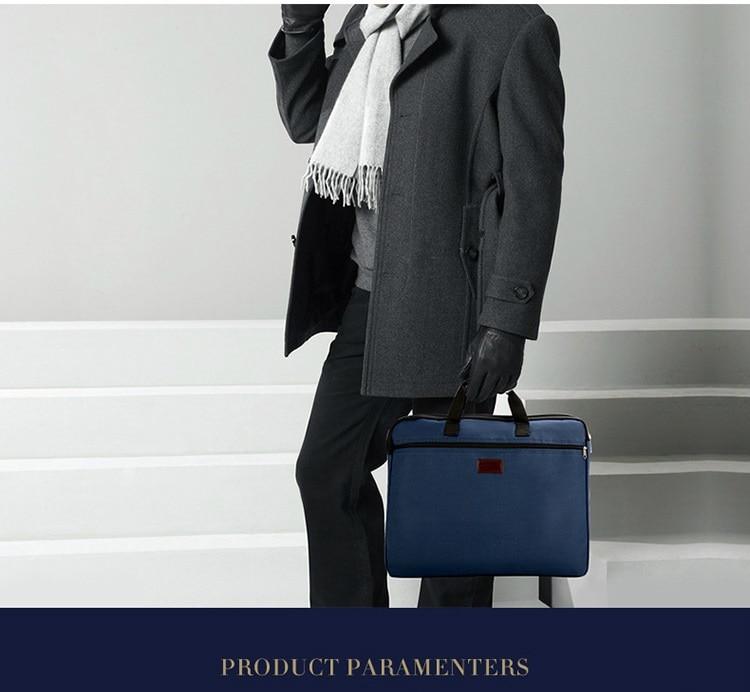 HTB1i3VWXRWD3KVjSZKPq6yp7FXaB Portable document bag canvas A4 office zipper bag large capacity men women handbag multi-layer information bag briefcase meeting