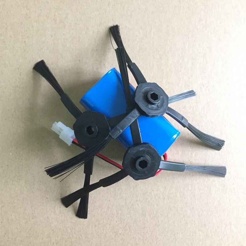 2800 mAh Robotik Staubsauger Akku 3x ilife Seitenbürste ersatzteile für Chuwi ilife V7S v7s pro