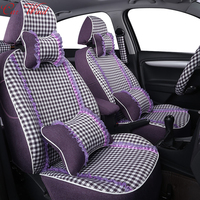 Car Wind Custom Car Seat Covers For Volvo XC60 S60 Ssangyong Nissan Qashqai MINI 2007 2012