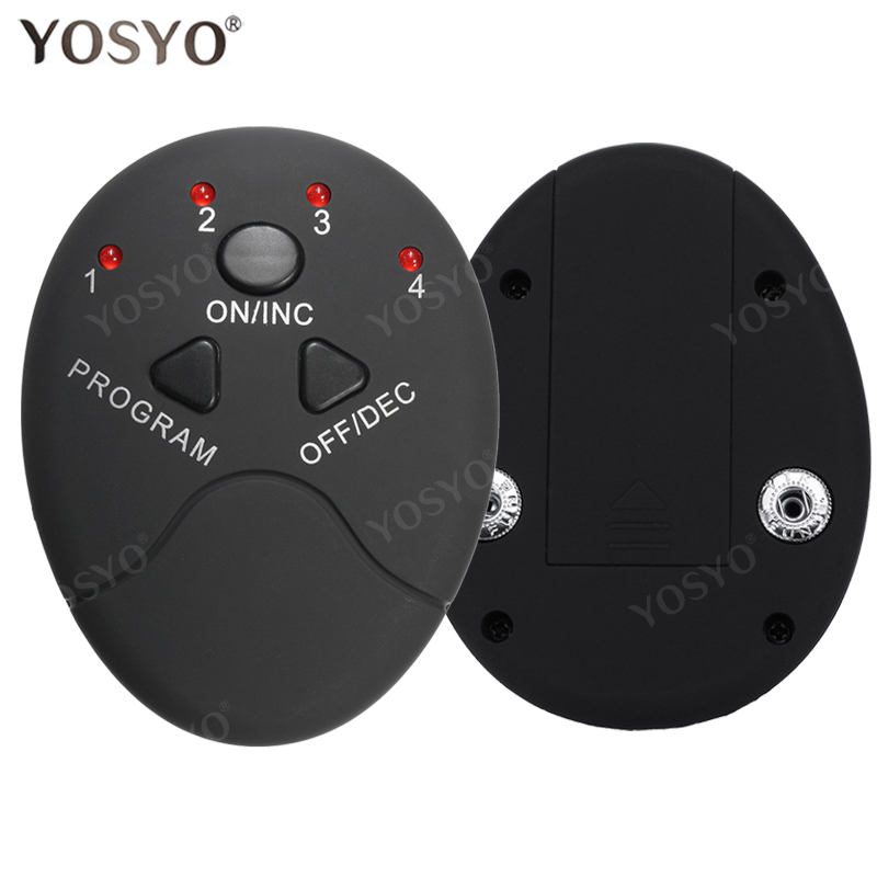 Replacement Smart Controler Pad For Wireless EMS Abdominal Muscle Trainer Muscle Stimulator Pad  Abs Slimmer Sports Stickers