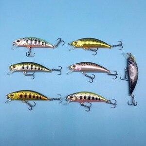 Image 3 - TSURINOYA  2018 New product 14 Colors 5g/5CM  Hard Bait Small Minnow Crank Fishing lures Bass sinking fishing wobblers