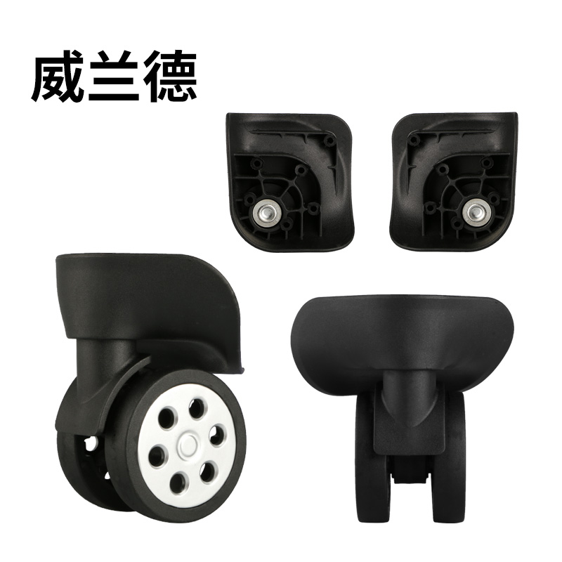 High Quality Luggage Replacement  Wheels for suitcases Repair 360 Spinner Casters Parts Universal wheel roller mute casters