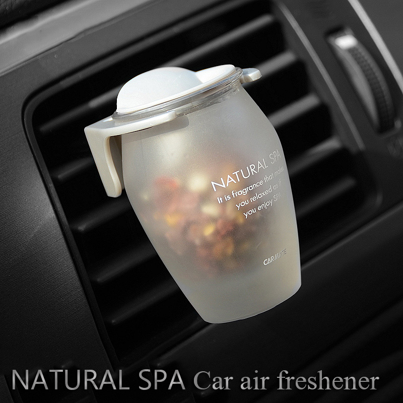 Car air vent air freshener Zeolite car air fragrance Car perfume Natural SPA Frosted glass material zeolite impregnated perfume in Air Freshener from Automobiles Motorcycles