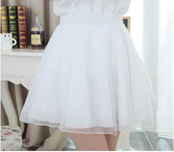 de845cad28 European and American fashion flowers BZ Organza Tulle Black Beige  Bridemaid Shorts Balloon Skirt Sarah Jessica Parker-in Skirts from Women's  Clothing on ...