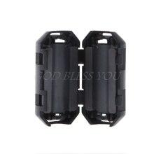 Черный зажим ферритовый кольцевой сердечник, производство Китай RFI EMI Шум подавитель кабельный зажим 3,5/5/7/9/13 мм для Мощность кабели
