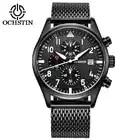 Ikon мужские часы, черные мужские часы, Топ бренд, роскошные мужские спортивные часы, модные наручные часы, черные, белые 1512964 - 1