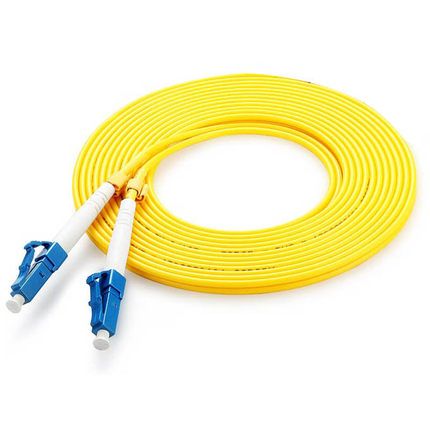 LC - LC fiber patch cord LC jumper cable, SM, Single Mod Simplex, 9/125, 3/5/10/15/20/30/50/80/100 Meters professional fiber optic connectors cable 3m lc to lc fiber patch cord electricos jumper cable duplex 3 0mm mm 62 5 125 lc lc hr