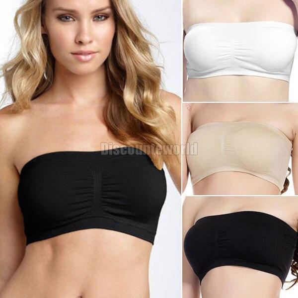 Online Buy Wholesale black bandeau bra from China black bandeau ...
