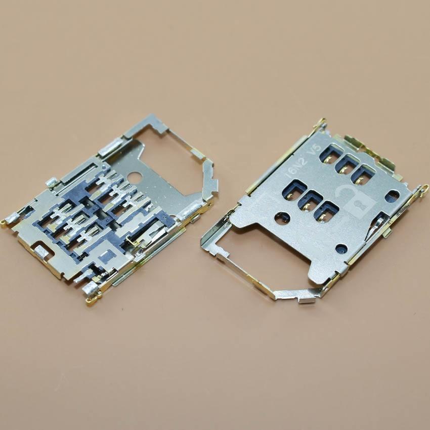 YuXi 1pc Sim Card Reader Holder Socket For Nokia C6-01/ E5/ X5-01 used slot socket connector