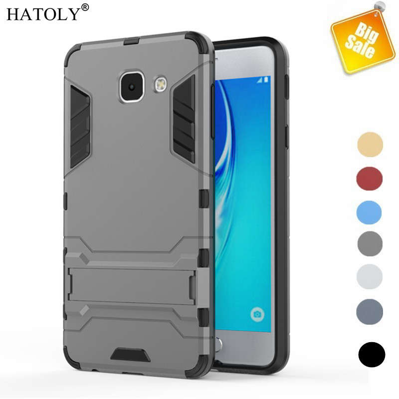 HATOLY For Capa Samsung Galaxy J7 Max Case TPU + PC 2 Layer Armor Case For Samsung Galaxy J7 Max Cover For Samsung J7 Max Funda