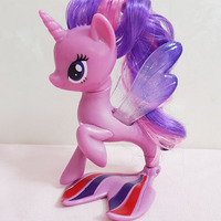 10cm 3 9in Hight Action Figures Pvc Model Twilight Sparkle Doll Toy For Little Kids Gift