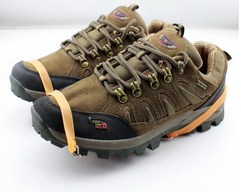 Lauko įranga šeši dantų kronšteinai, sniego neslystantis batų - Kempingai ir žygiai pėsčiomis - Nuotrauka 2