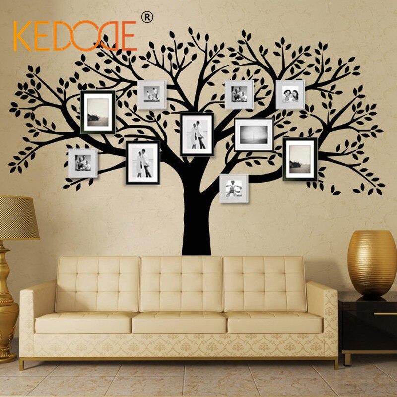 Kedode Family Tree Wall Decal Extra Large Photo Frames Tree Wall