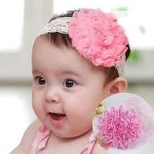 Детская повязка на голову с бантом 31 цвет широкий ободок для