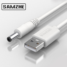 SAMZHE USB to DC Cable 5V 3A Charging&Data Cable 5.5mm for Music Player Old Version Phones Lights Computer Accessories