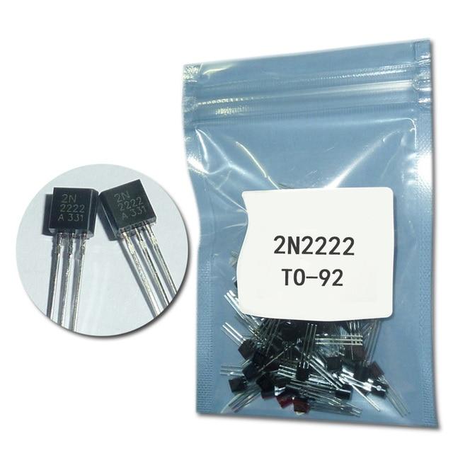 1000pcs/lot 2N2222 to92 transistor NPN set transistor assortment kit 2n2222a transistors TO-92 power transistor DIP 0.6A 30v