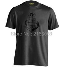 REFUSE TO SINK Anchors Mens & Womens Summer Casual Short Sleeve T shirt