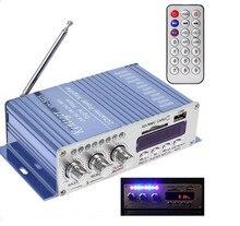 HY502 Amplificador de Potência de Áudio USB Oi-Resolução Digital Player para Auto Amplificador Estéreo com Fio Adaptador Usb para Mp3 jogador