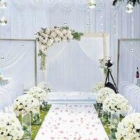 Горячая Распродажа Цветочная стена Лес Серия искусственные цветы для свадьбы аранжирование украшения
