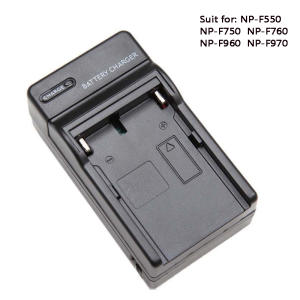 Battery Charger For NP-F550 NP-F750 NP-F960 NP-F970