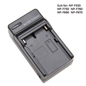 Image 1 - Батарея Зарядное устройство для NP F550 NP F750 NP F960 NP F970