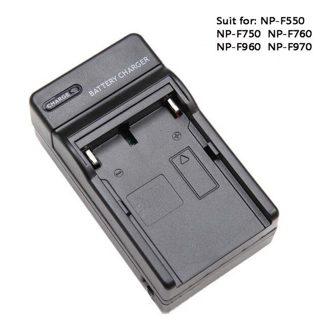Батарея Зарядное устройство для NP F550 NP F750 NP F960 NP F970