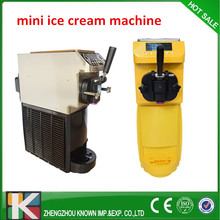 5L/hour capacity soft ice cream machine/ice cream making machine on sale without refrigerant