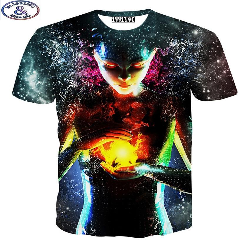 Mr.1991 12-20 년 십대 소년 티셔츠 최신 패션 3D 인쇄 - 아동복
