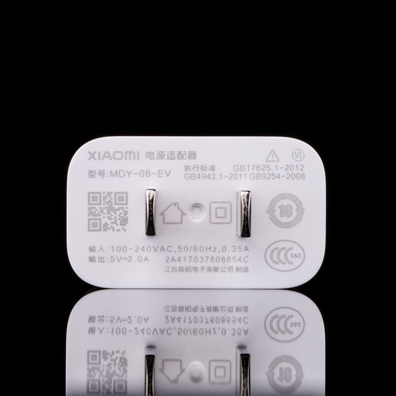 Image 3 - Original XIAOMI Redmi Note 7 Mi Charger Adapter 5V 2A, Micro USB/Type C Cable For Mi Mix 2 4 4s A1 6 8 Redmi NOTE 4 4A 4X 5 5A-in Mobile Phone Chargers from Cellphones & Telecommunications