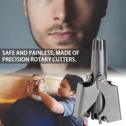 1 шт. Новое безопасное устройство для обрезки Vibrissa ручной механический триммер для носа из нержавеющей стали бритье и устройство для
