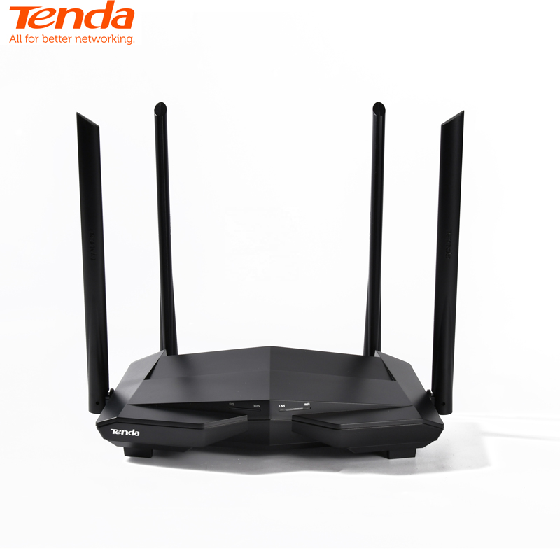 Tenda AC10 AC1200M Wireless WiFi Router 2.4Ghz/5.0Ghz High Gain Antenna Home Coverage Dual Band Wifi Repeater,APP Remote Manage