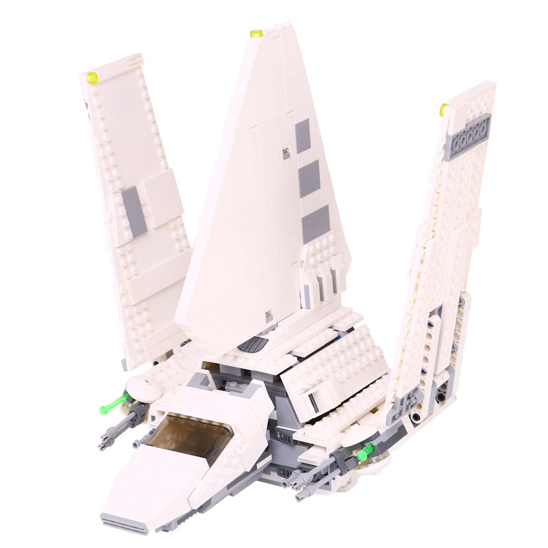 LEPIN 05057 937Pcs Star Stunning SelfLocking Wars Shuttle Tydirium Building Blocks Bricks Assembled Toy Compatible with 75094 lepin 05034 star classic toy wars stunning the assemble shuttle building blocks bricks assembled toys compatible with 10212 gift