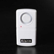 Quality Mini Anti-Theft Security System 120dB Vibration Alarm Doorbell Alarm Whi