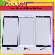 10pcs/ For Huawei Mate 10 Lite Honor 9i Nova 2i G10 Plus Maimang 6 Touch Screen Panel Sensor Digitizer Front Glass Touchscreen goowiiz черный maimang 6 mate 10 lite honor 9i nova 2i