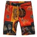 2017 New Arrival Men Casual Shorts Beach Shorts Loose Floral Print Men's Short Pants Big SIze M-5XL