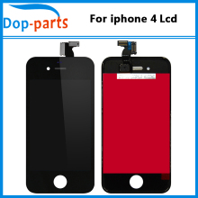 10PCS/LOT LCD For iPhone 4 LCD Display A+++ Quality LCD Screen With Digitizer Touch Screen Replacement free shipping by DHL цена в Москве и Питере